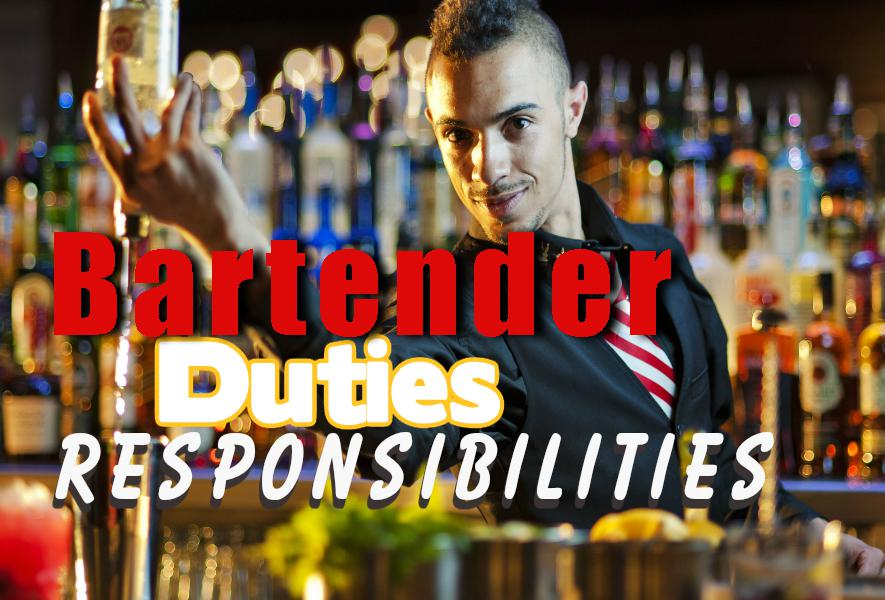Bartender Duties and responsibilities List
