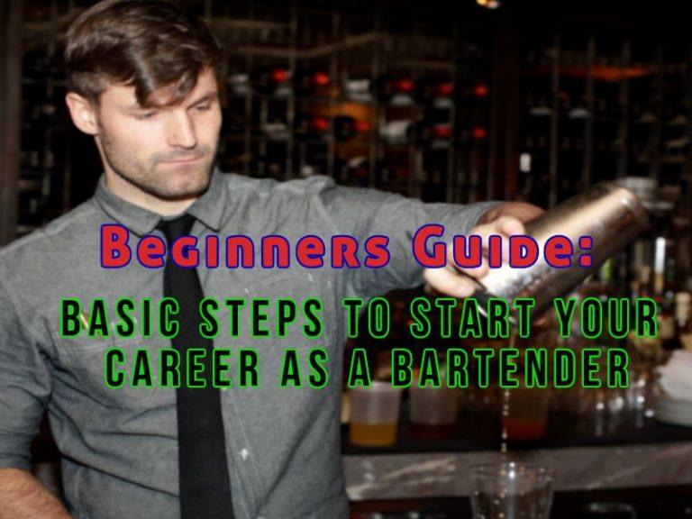 Bartending Carrer Basic Guide