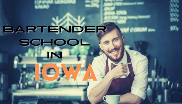 bartending school for license Iowa